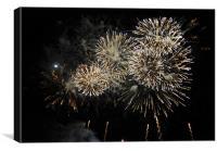 Fireworks 1, Canvas Print