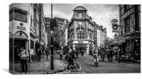 Old Compton Street, Soho, London, Canvas Print
