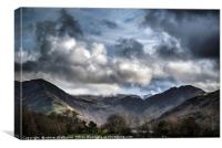 Stormy Buttermere, Canvas Print