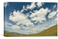Montana Landscape, Canvas Print