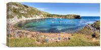 Lulworth Cove, Canvas Print