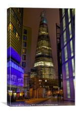 The Shard - London, Canvas Print
