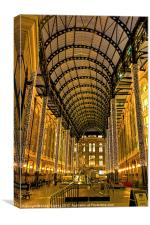 Hays Galleria London, Canvas Print