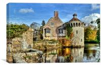 Scotney Castle, Canvas Print