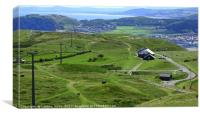 The Great Orme, North Wales, Canvas Print