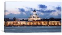 Helsinki, Canvas Print