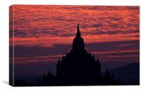 Bagan, Canvas Print