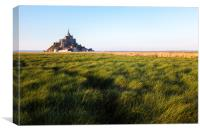 Mont Saint-Michel, Canvas Print