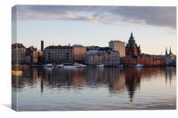 Helsinki Skyline, Canvas Print