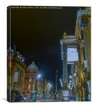 Market Street, Newcastle, Canvas Print