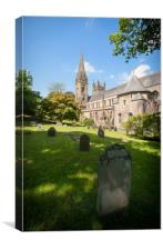 Llandaff Cathedral, South Wales, Canvas Print