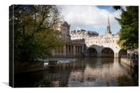 Pulteney Bridge, Bath, UK, Canvas Print