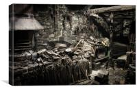Blacksmith's, Canvas Print