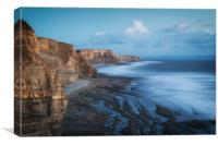 Glamorgan dusk, Canvas Print