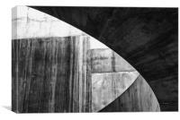 Stone Circle Meets Square, Canvas Print