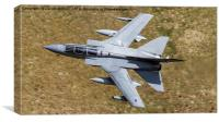 Royal Air Force  Tornado GR4 Low Level in Wales, Canvas Print