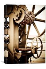 Industrial Copenhagen, Canvas Print