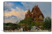 The Wat at Wat Ban Rai, Canvas Print