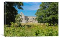 Newark Priory #2, Canvas Print