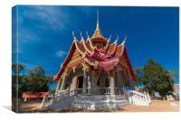Wat Pa Tuk Suer, Canvas Print