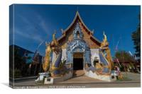 Wat Khu Khea, Canvas Print