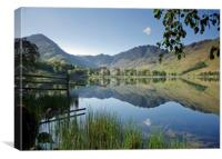 Fleetwith Pike and Haystacks, Buttermere, Canvas Print