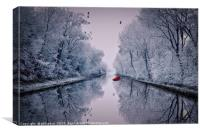 Motionless Reflections, Canvas Print