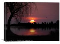 The Willow Tree, Canvas Print