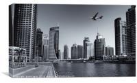 Dubai Marina, Canvas Print