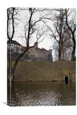 Toompea Castle From The Park, Canvas Print
