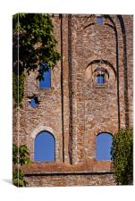 Windows Of An Old Convent, Canvas Print