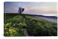 Rossall Point Tower, Canvas Print