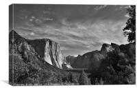 Yosemite Valley, Canvas Print