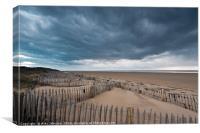 St Annes Sand Dunes, Canvas Print