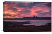 Mirador de Las Aguilas Viewpoint, Patagonia, Argen, Canvas Print