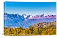 Andean Patagonia Landscape, Aysen, Chile, Canvas Print