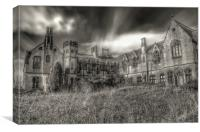 Haunted house , Canvas Print