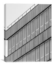 Straight Lines - Building UK, Canvas Print