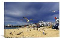 Fisherman's Beach, Canvas Print