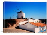 Ancient Windmill, Canvas Print