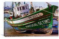 Fishing Trawler, Canvas Print