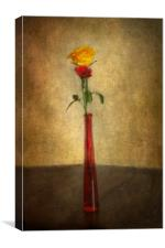 Vintage Rose, Canvas Print