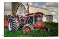 Farm Scene - Painting, Canvas Print
