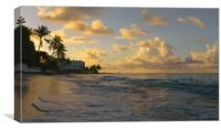 Good Morning Barbados, Canvas Print