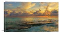Paradise Sunset, Canvas Print