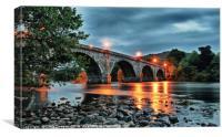Thomas Telford Bridge - Dunkeld, Canvas Print