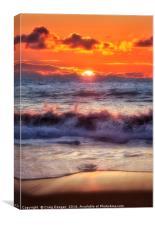 Dalmore Sunset, Canvas Print