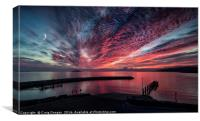 Eriskay Sunset - Outer Hebrides, Canvas Print