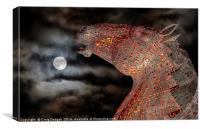 Moon Kelpie, Canvas Print