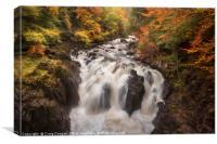The Falls of Braan, Canvas Print